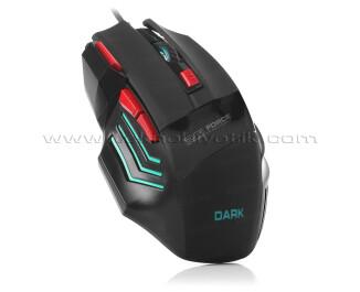Dark Elite Force GM1000 DPI Ayarlanabilir Aydınlatmalı USB Oyuncu Mouse