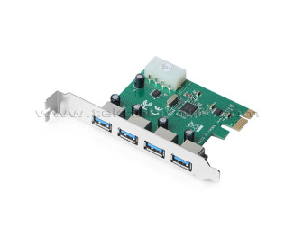 Dark 4 x USB 3.0 Portlu PCI Express x1 Anakart USB Çoklayıcı Kart (DK-AC-U3P4)
