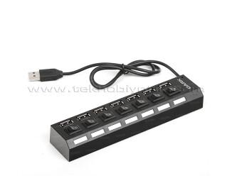 Dark Connect Master U72 7 Port On/Off Düğmeli USB Çoklayıcı (DK-AC-USB272)