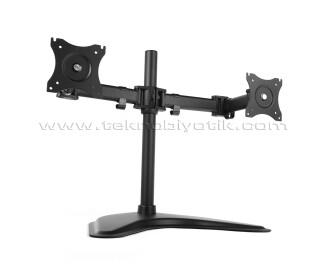 """Dark VM27 2 x 13""""-27"""" Monitör Destekli Masa Üstü TV ve LCD Monitör Standı (DK-AC-VM27)"""