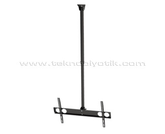 "Dark VT12 37""- 70"" Uyumlu Tavan Tipi Hareketli, Yükseklik Ayarlı LCD/LED Televizyon Askı Aparatı (DK-AC-VT12)"