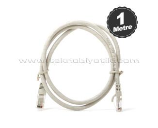 Dark 1m CAT6 CU AWG24/7 UTP Gri Network Kablosu (DK-CB-NT6U100G)