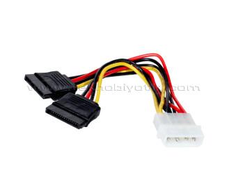 Dark Molex to 2 x Sata Çevirici Çoklayıcı Kablo (DK-CB-P102)