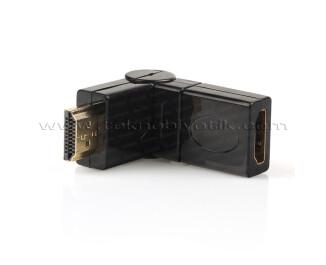 Dark HDMI Dişi - HDMI Erkek 270 Derece Dönüştürücü Dirsek (DK-HD-AMXF270)