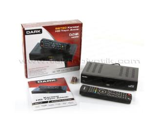 Dark SBT20 HDMI ve SCART Bağlantılı, Medya Player Özellikli Dijital Karasal HD DVB-T2 Yayın Alıcısı (DK-TV-SBT20)