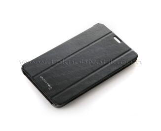 """Dark Samsung Galaxy TAB4 7"""" T230 Siyah Akıllı Deri Kılıf / Book Cover (DK-AC-SMKAS704T4)"""