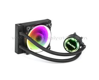 Dark AquaForce W122 12cm Çevresel Adreslenebilir RGB Fanlı, Intel & AMD Uyumlu Sıvı Soğutma Sistemi (DKCCW122)