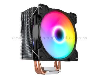 Dark Freezer X123 12cm FRGB Led Fanlı, Intel / AMD Uyumlu, 4Pin PWM Bağlantılı Kule Tipi İşlemci Soğutucu (DKCCX123)