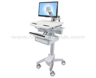 Ergotron StyleView Tek Çekmeceli LCD Kollu Stand (ERGSV4312100)