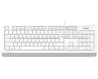 A4 TECH FK10 Q USB WHITE FK10 Q TR Multimedya Klavye