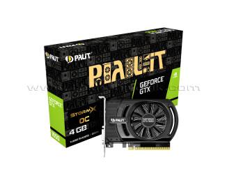 Palit GeForce GTX1650 StormX OC 4GB 128Bit GDDR5 Ekran Kartı (NE51650S06G1-1170F)