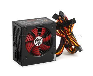 High Power 500W 80+ ECO Bronze Kırmızı Fanlı Aktif PFC Güç Kaynağı (HPE-500BR-A12S)