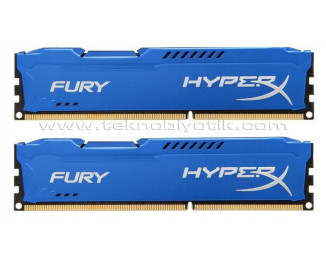 Kingston DDR3 1600MHz 16GB(2x8GB) HyperX Fury Ram Bellek (HX316C10FK2/16)