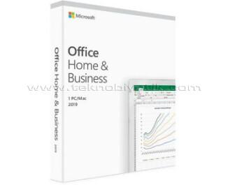 Microsoft Office Ev ve İş 2019 Elektronik Lisans (T5D-03184)