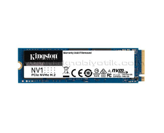 Kingston NV1 1TB 2100MB/1700MBs NVMe PCIe M2 SSD (SNVS/1000G)