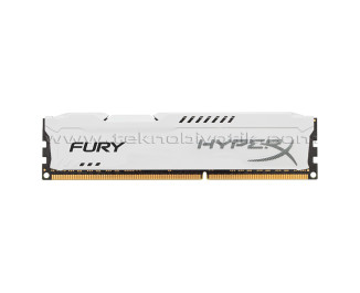 Kingston DDR3 4GB 1600MHz HyperX Fury White Ram Bellek (HX316C10FW/4)