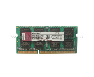 Kingston DDR3 8GB 1333MHz SODIMM Notebook Ram Bellek (KVR1333D3S9/8G)