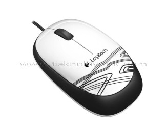 Logitech M105 Optik Mouse USB (Beyaz) (910-002944)