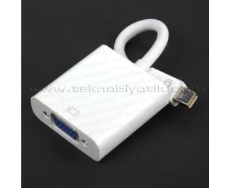 Dark Mini Display Port - VGA Aktif Dönüştürücü (DK-HD-AMDPXVGA)