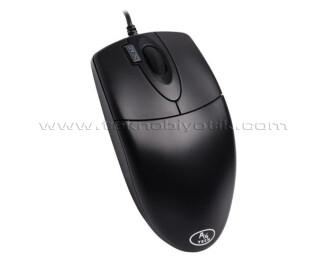 A4 TECH Kablolu USB Optik 1000DPI Siyah Mouse