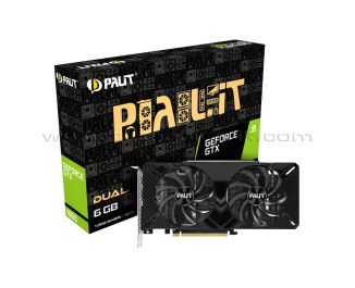 Palit GeForce GTX1660 Dual 6GB 192Bit GDDR5 Ekran Kartı (NE51660018J9-1161A)
