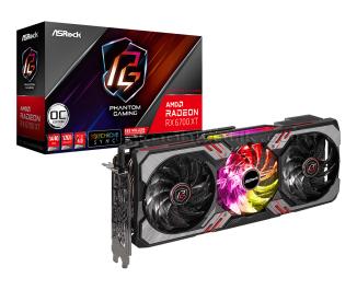 AsRock Radeon RX6700 XT Phantom Gaming D OC 12GB 192Bit GDDR6 RX 6700XT PCI Express 4.0 Ekran Kartı