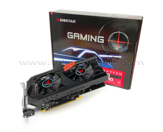 BIOSTAR Radeon RX570 8GB (Dual Cooling) 256Bit GDDR5 Ekran Kartı (VA5705RV82)