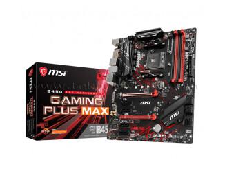 MSI B450 GAMING PLUS MAX Socket AM4, DDR4 4133MHz (OC), Ultra M.2, USB 3.1 ATX Anakart