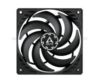 Arctic P12 Slim PWM PST, 120mm 4pin PST  2100 RPM Siyah Çerçeve Siyah Kanat Kasa Fanı (AR-ACFAN00187A)