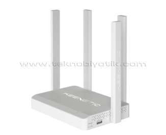 Keenetic Extra DSL AC1200 4x5dBi Cloud VPN WPA3 Amplifier USB 4xFE VDSL2/ADSL2+ Fiber Mesh WiFi Modem Router / Mesafe Genişletici / Access Point / Client