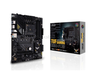 ASUS TUF GAMING B550-PLUS AM4, DDR4, 4400mHz, DP, HDMI, Çift M2  USB3.2  ARGB  ATX  Anakart