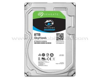 """Seagate Skyhawk 8TB 3.5"""" 256MB 7200Rpm SATA 3.0 64HD Kamera 7/24 Güvenlik Diski (ST8000VX004)"""