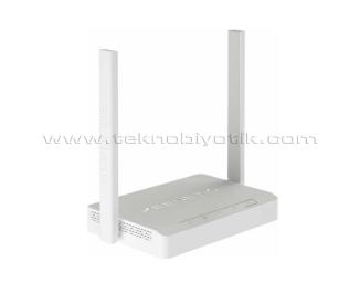 Keenetic Omni DSL KN-2011-01TR N300 2x5dBi Cloud VPN WPA3 Amplifier USB 4xFE VDSL2/ADSL2+ Fiber Mesh WiFi Modem /Router/ Mesafe Genişletici / Access Point / Client