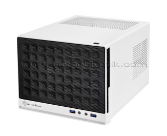 SilverStone Sugo SG13B White / Mini ITX Performans Kasası (SST-SG13WB)