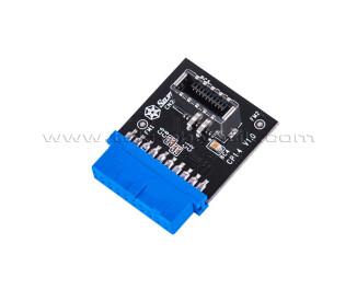 Silverstone CP14-E USB 3.0 19Pin - USB 3.1/3.2 Type C 20Pin Başlık (SST-CP14-E)