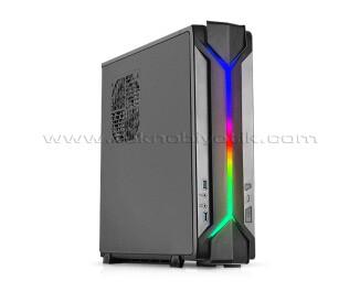 SilverStone Raven RVZ03B 450W 80+ Bronze Adreslenebilir RGB Mini ITX/HTPC Bilgisayar Kasası (SST-RVZ03B-ARGB)