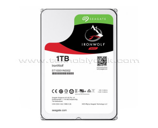 "Seagate IronWolf NAS HDD 1TB 3.5"" 5900RPM 64MB Cache Sata 3 Sabit Disk ST1000VN002"