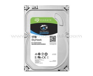 """Seagate Skyhawk 1TB 3.5"""" 64MB 5900Rpm SATA 3.0 64HD Kamera 7/24 Güvenlik Diski (ST1000VX005)"""