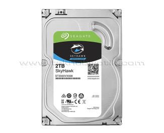 """Seagate Skyhawk 2TB 3.5"""" 64MB 5900Rpm SATA 3.0 64HD Kamera 7/24 Güvenlik Diski (ST2000VX008)"""