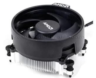 AMD Wraith Stealth AM4 Ryzen Orjinal Stok İşlemci Soğutucu