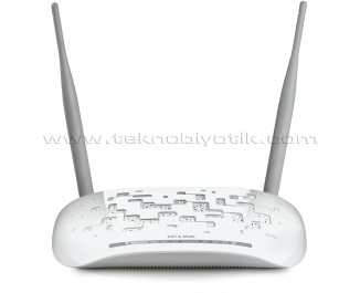 TP-LINK TD-W8961N 300Mbps N Kablosuz 4-Port 2x5dBi Antenli WPS ADSL2+ Modem/Router/AP
