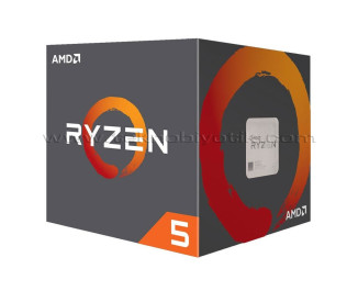 AMD Ryzen ™ 5 2600 3.4GHz (Turbo 3.9GHz) 6 Core 12 Threads 19MB Cache AM4 İşlemci (Kutusuz Orjinal Fanlı)