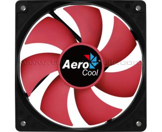 Aerocool Force Series 12cm Otomatik Hız Ayarlı, PWM, Kırmızı Sessiz Kasa Fanı (4 Pin Bağlantılı) (AE-CFFR120PRD)