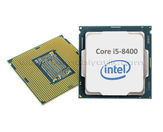 Intel Coffee Lake Core i5 8400 2.8GHz 9MB Cache LGA 1151 İşlemci (Kutusuz-Tray)