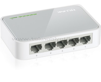 Tp-Link TL-SF1005D 5 Portlu 10/100 Ethernet Switch