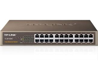 Tp-Link TL-SF1024D 24 Portlu 10/100 Ethernet Switch