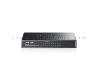 TP-Link TL-SG1008P 8-Port 10/100/1000Mbps 4 Port POE Destekli Gigabit Switch