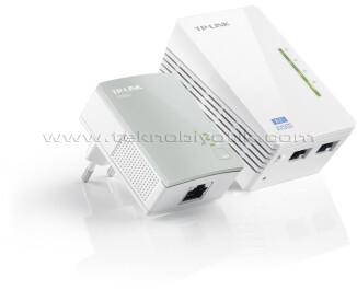 Tp-Link TL-WPA4220KIT AV500 300 Mbps Wireless N Kablosuz Powerline Extender  Starter Kit (2'li)