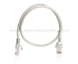 TX 1m Cat5E CCA Solid UTP Mavi Network Kablosu (TX-CB-NT5U100G)