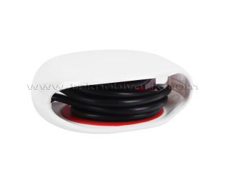 TX Kablo Toplayıcı, Toparlayıcı, Düzenleyici Kablo Organizatörü Beyaz (TXACCWW)